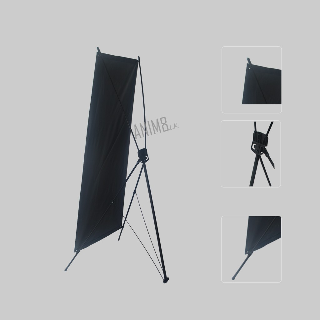 5x2 ft X banner with Stand | Anim8