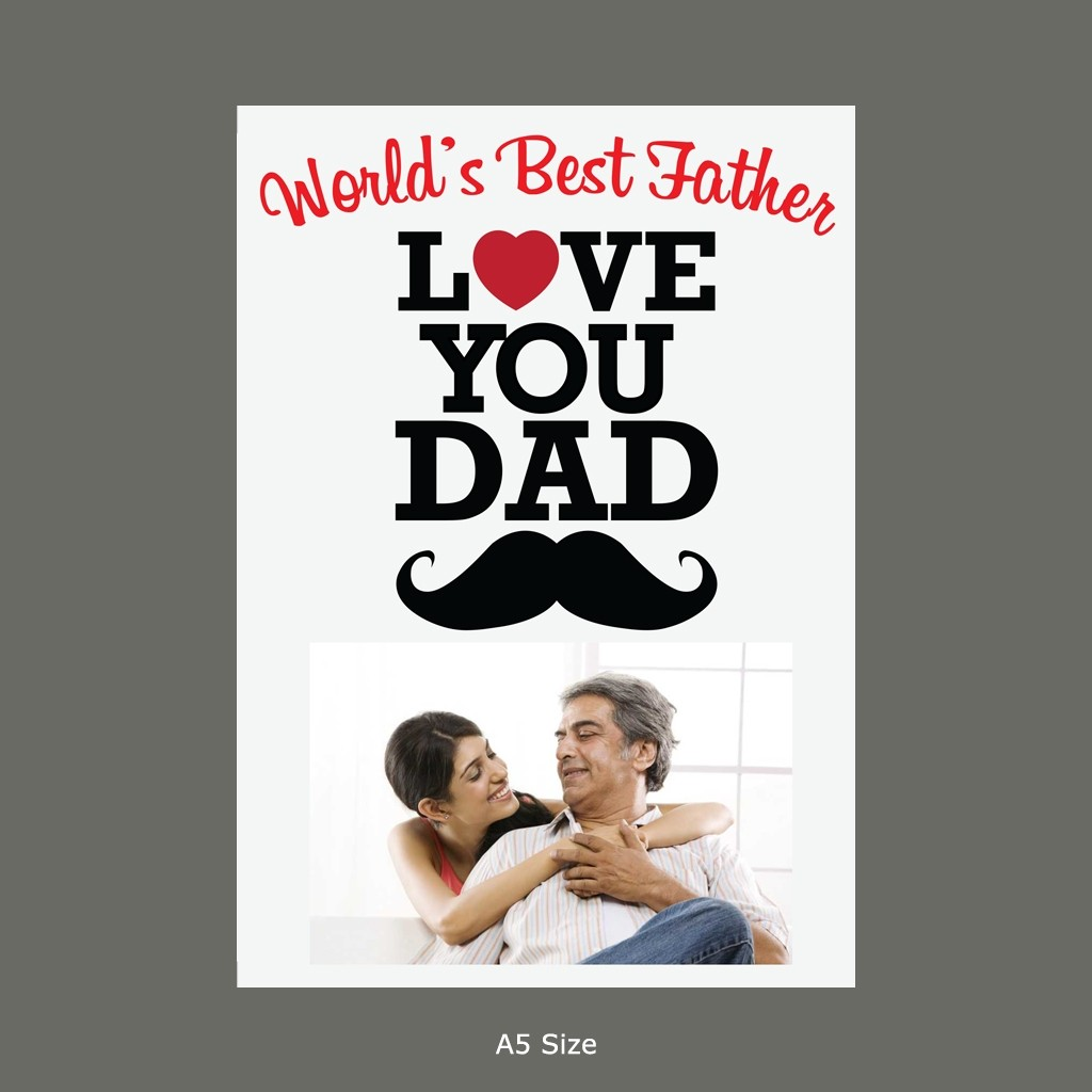 World's Best Father Card