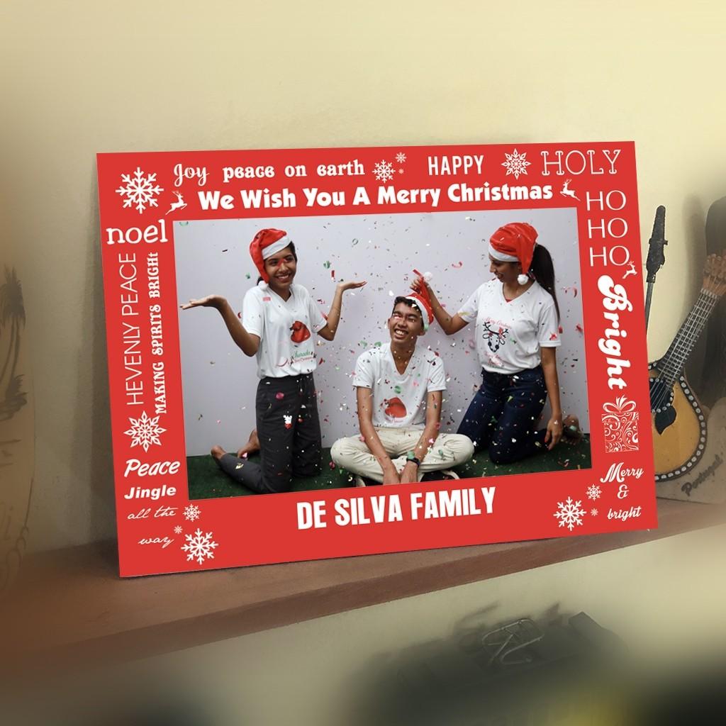 Christmas Card - Photo Sleeve