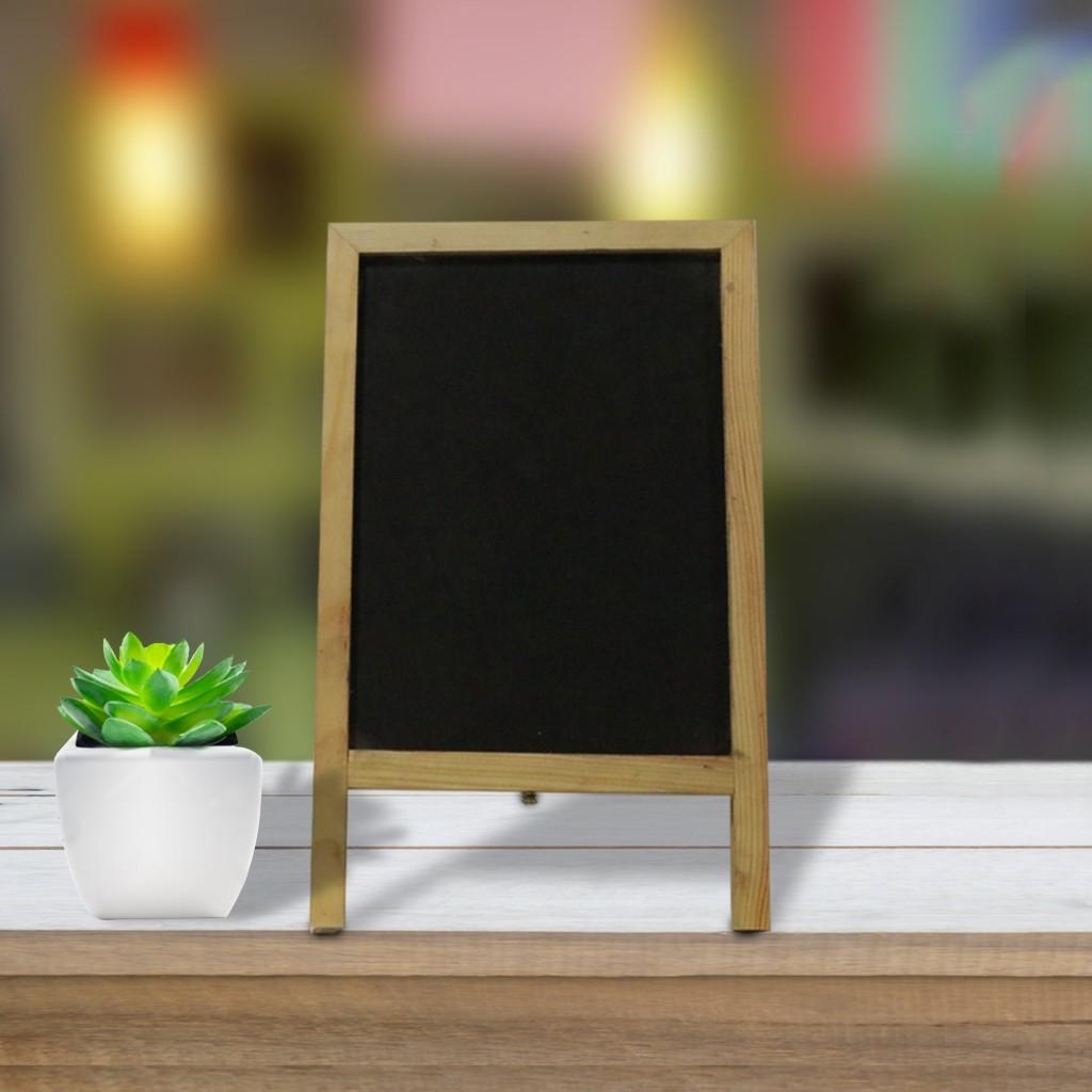 "Double Blackboard Mini ""A"" Stand"