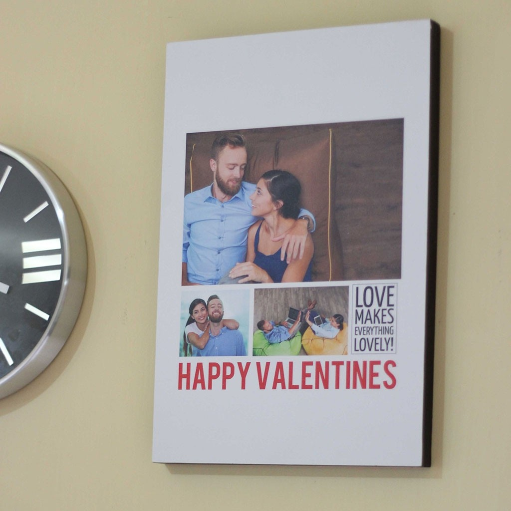 Valentines Day Box Frame 12x18 Inch