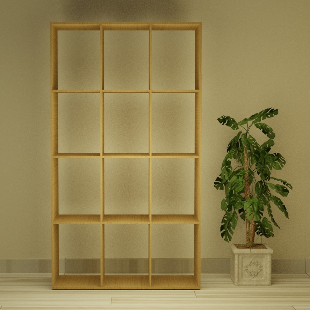Dozenit Wooden Shelf