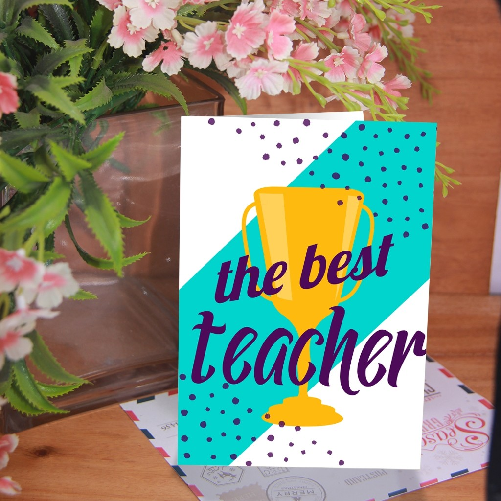 Teacher's Day Card 4