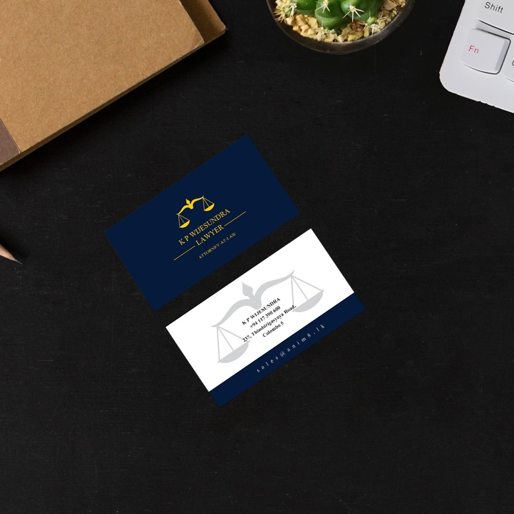 Attorney-At-Law Visiting Card