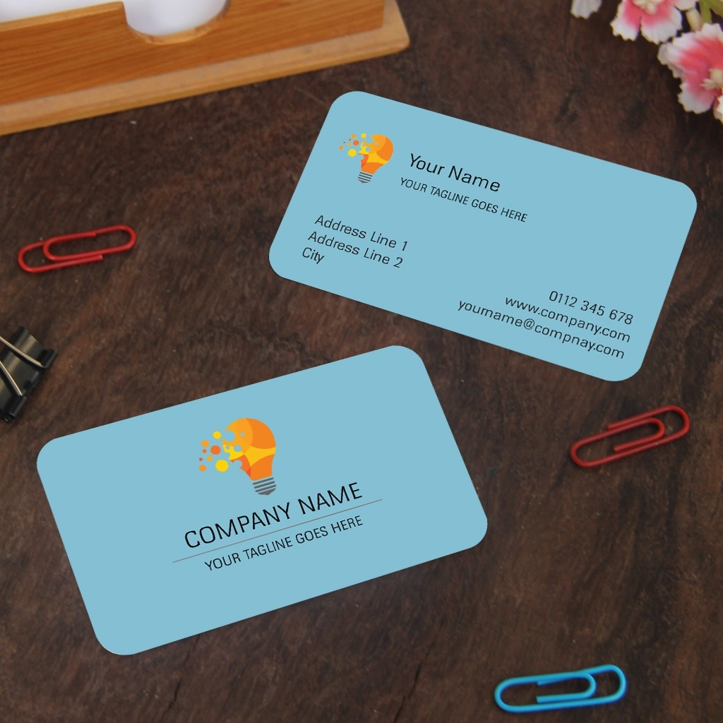 Rounded Visiting cards (Double Sided)