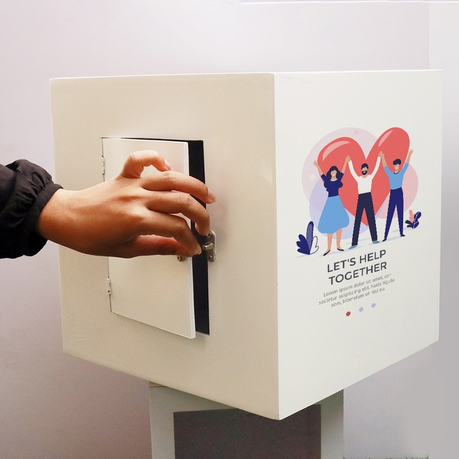 Large Donation or Suggestion Box