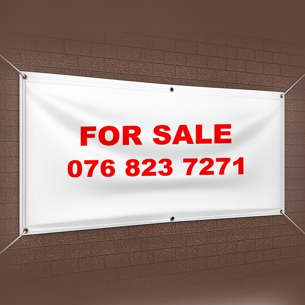 """For Sale"" Flex Banner"