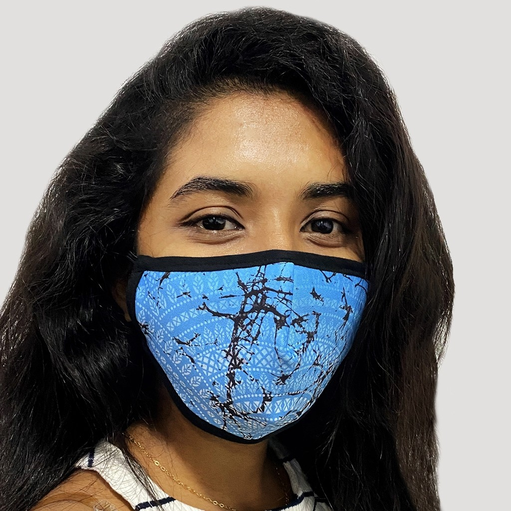 Fabric Mask With Design