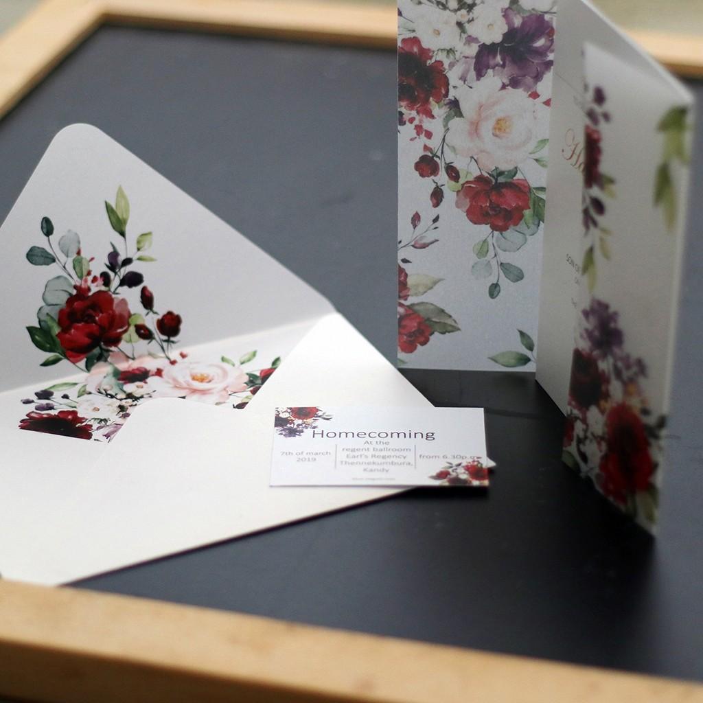 Printed Wedding Invitation Set