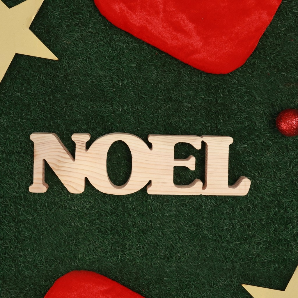 Noel Wooden Words