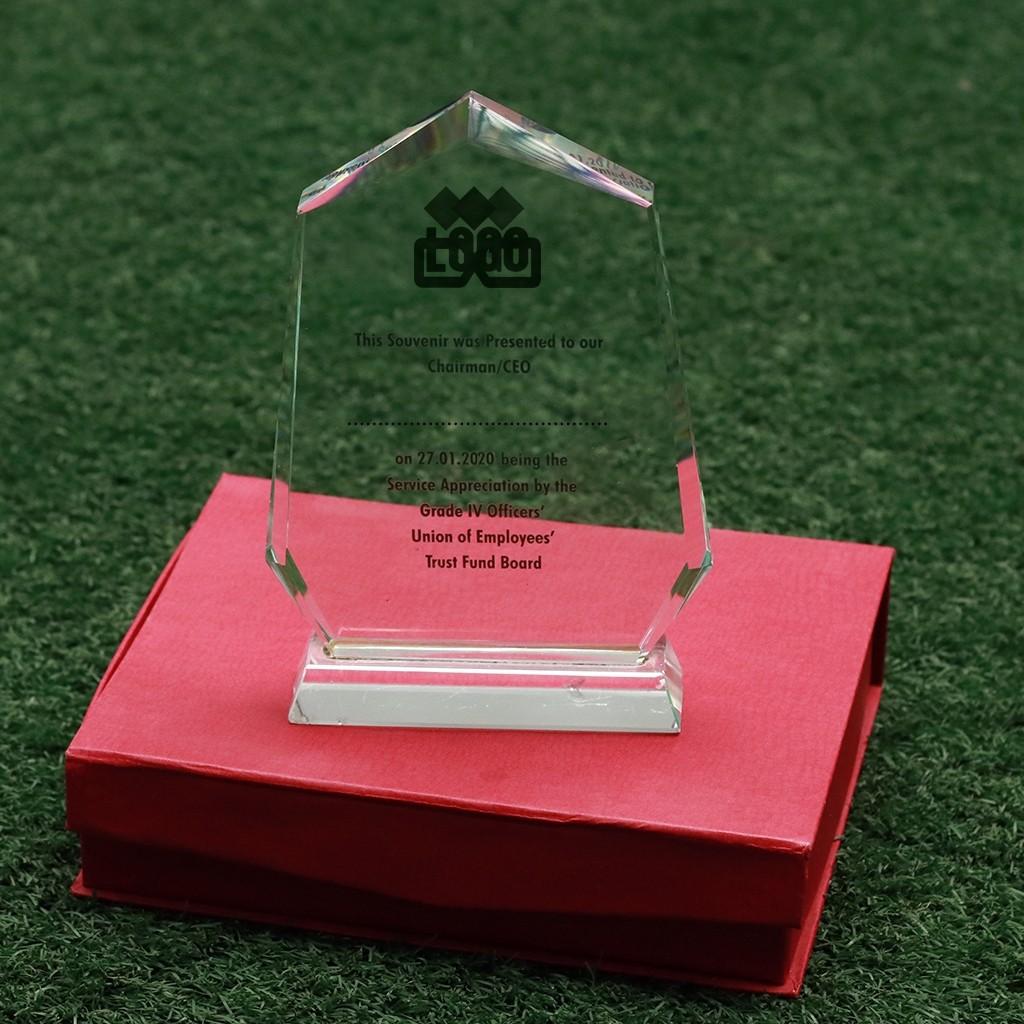 Crystal Trophy 3