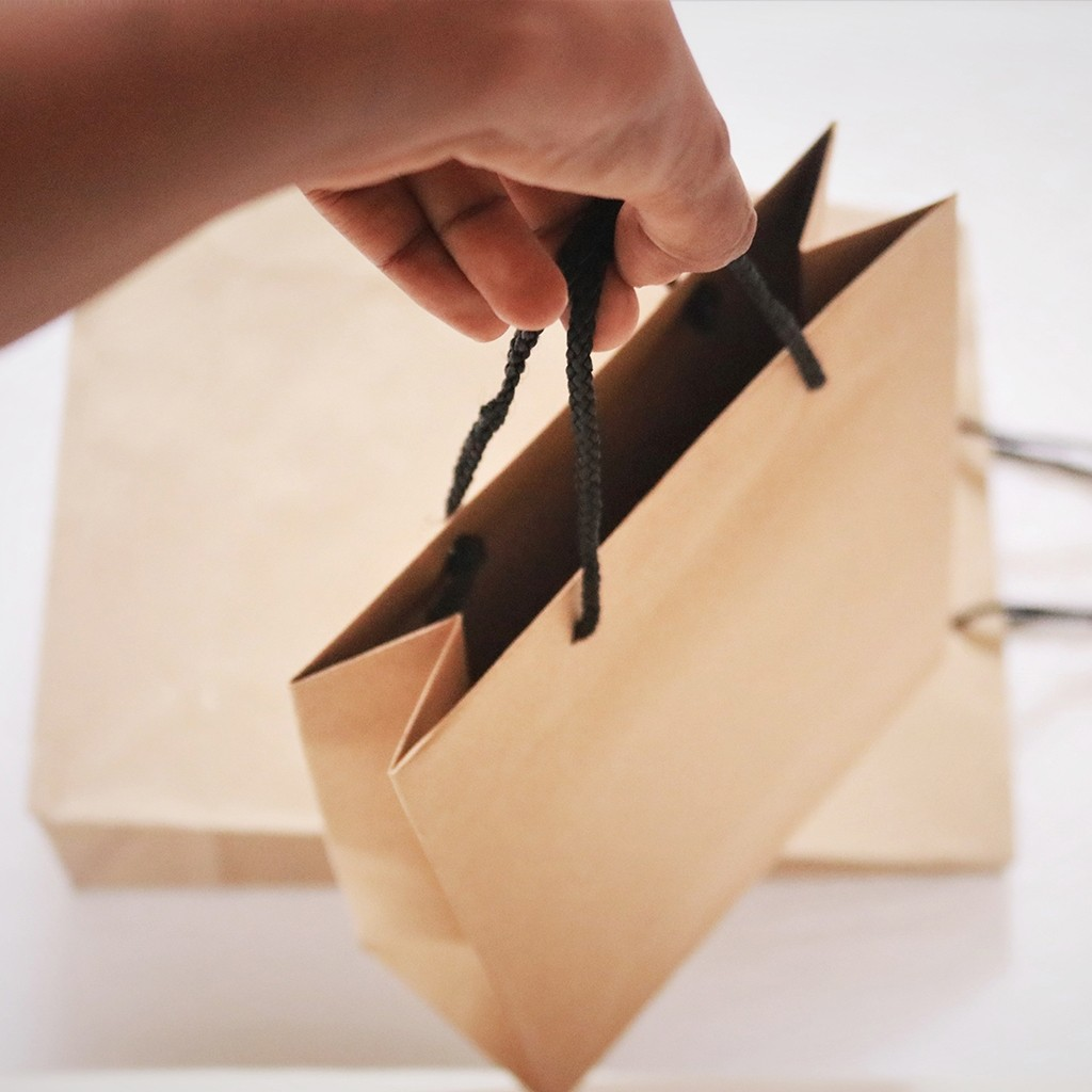 Brown Craft Paper Bag