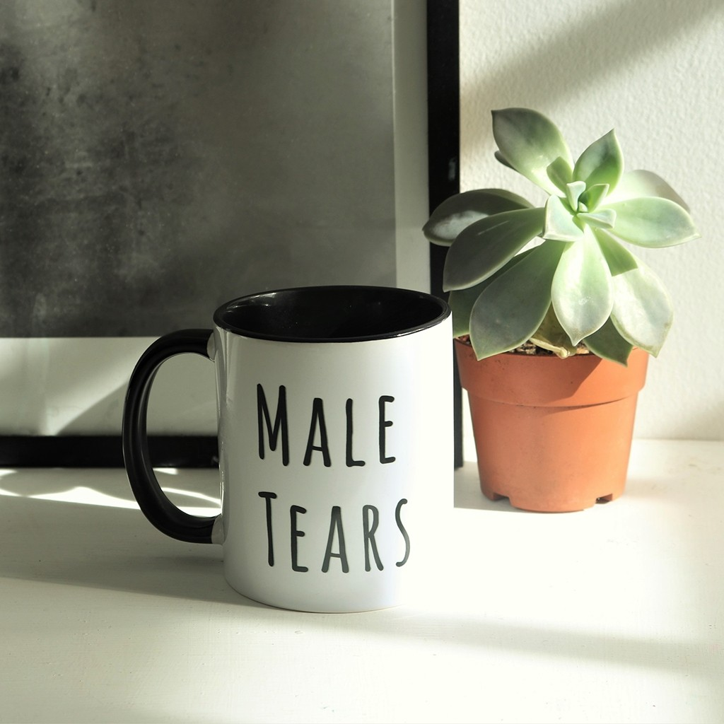 Quirky Quote Mugs  - Male Tears (Under Construction)