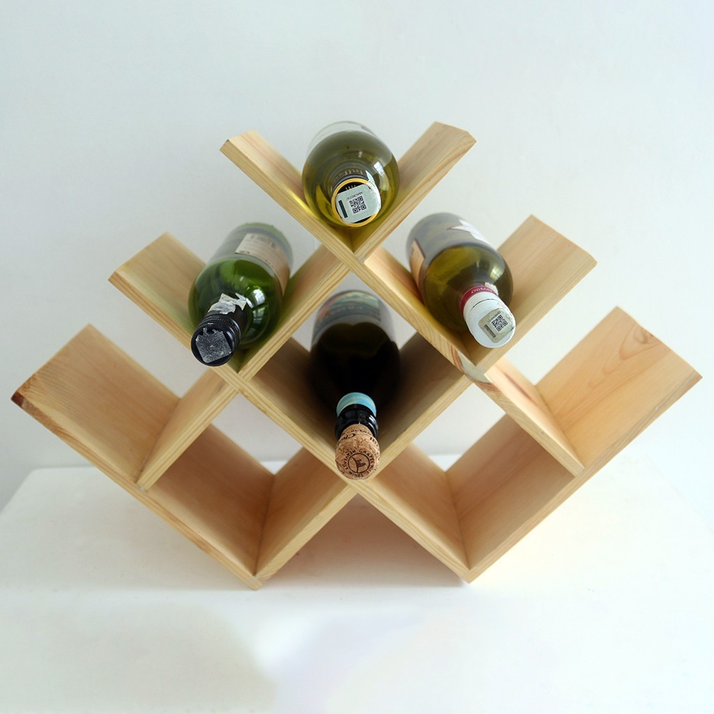 Wooden Wine Rack (Under Construction)