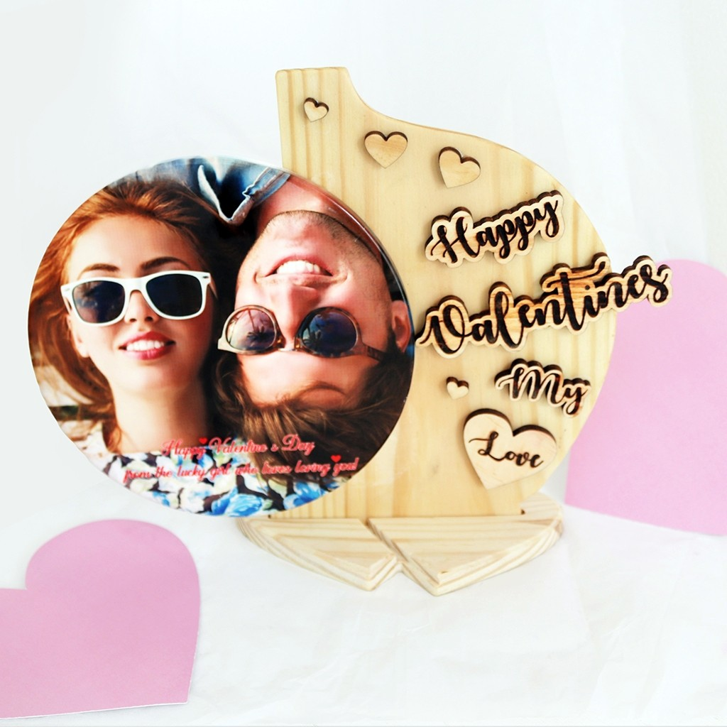 Valentine's Day Wooden and Ceramic Plaque(Under Construction)