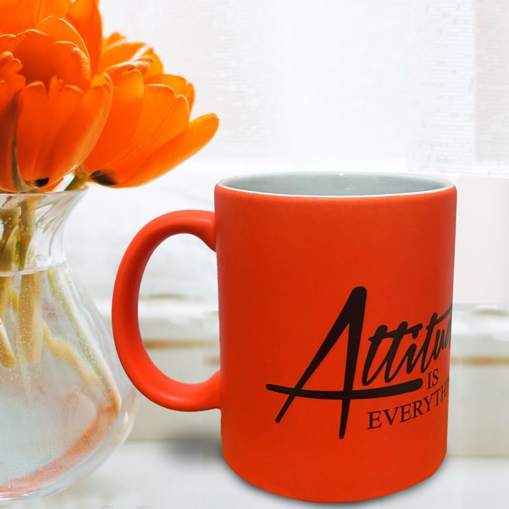 Luminous Orange Mug