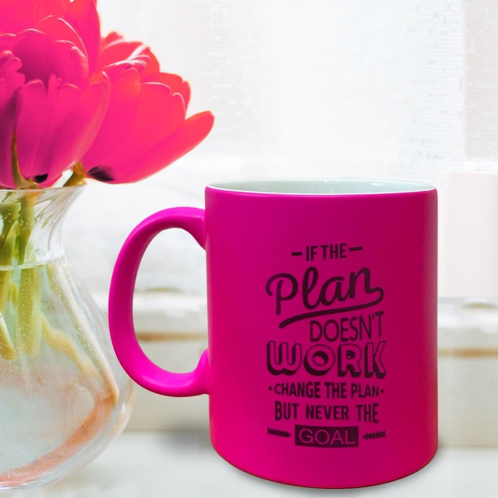 Luminous Pink Mug