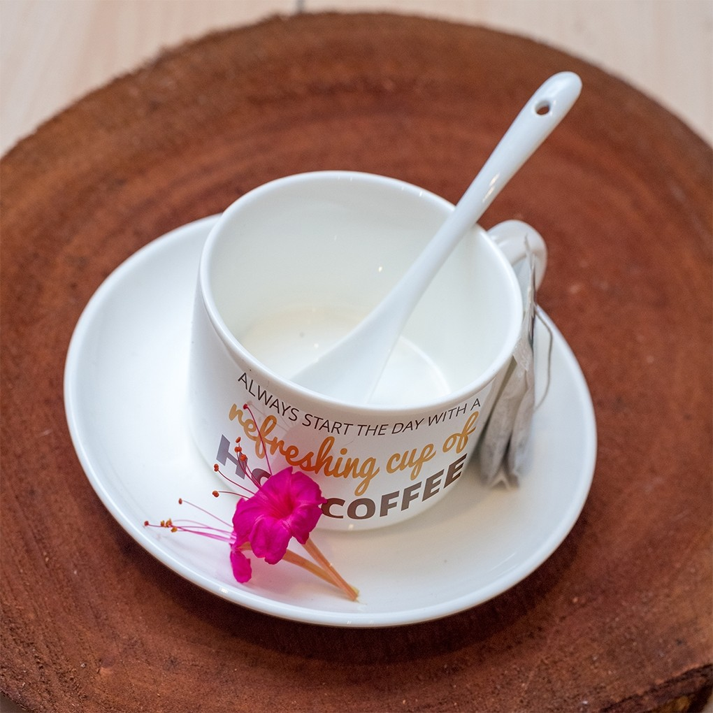Cup n Saucer with spoon