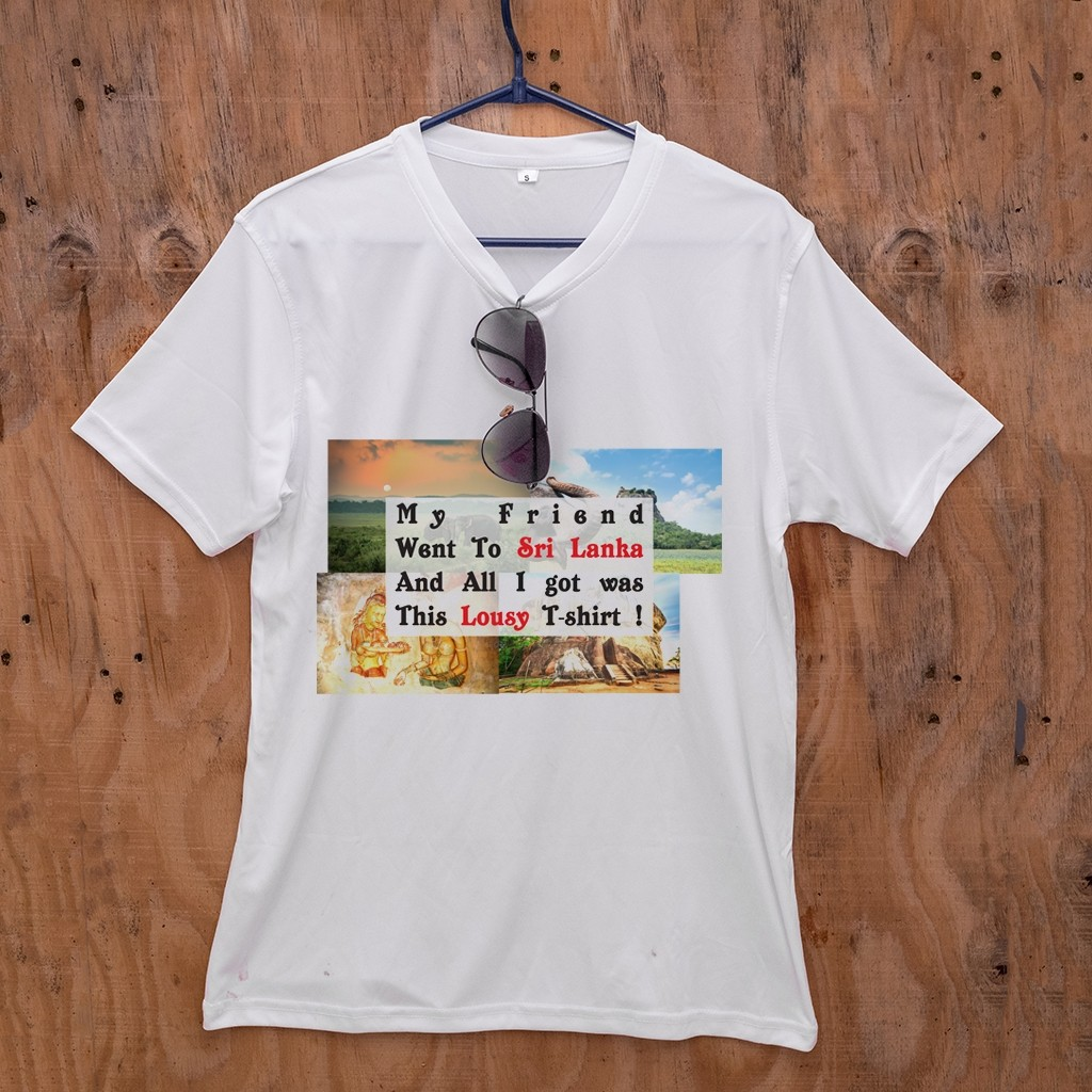T-Shirt - Tourist Souvenir Design