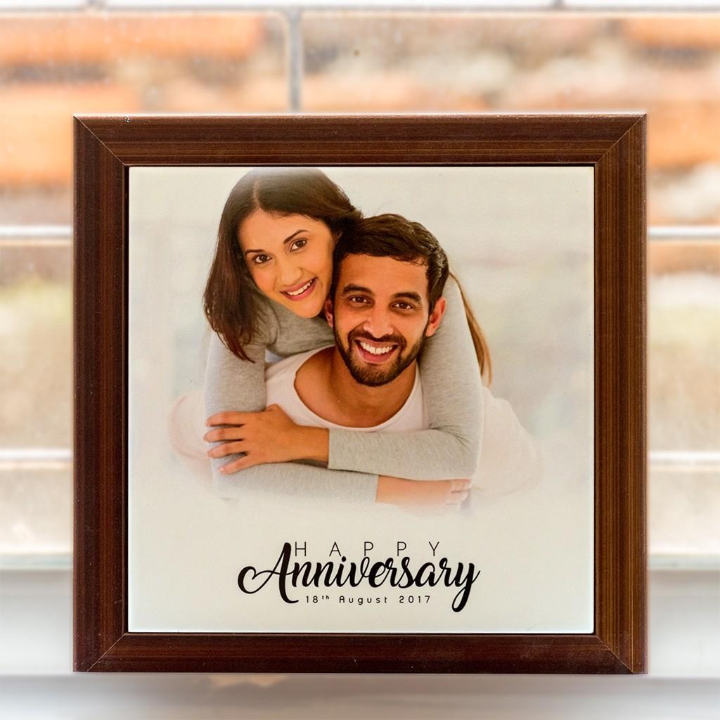 Anniversary 8x8 Framed Tile