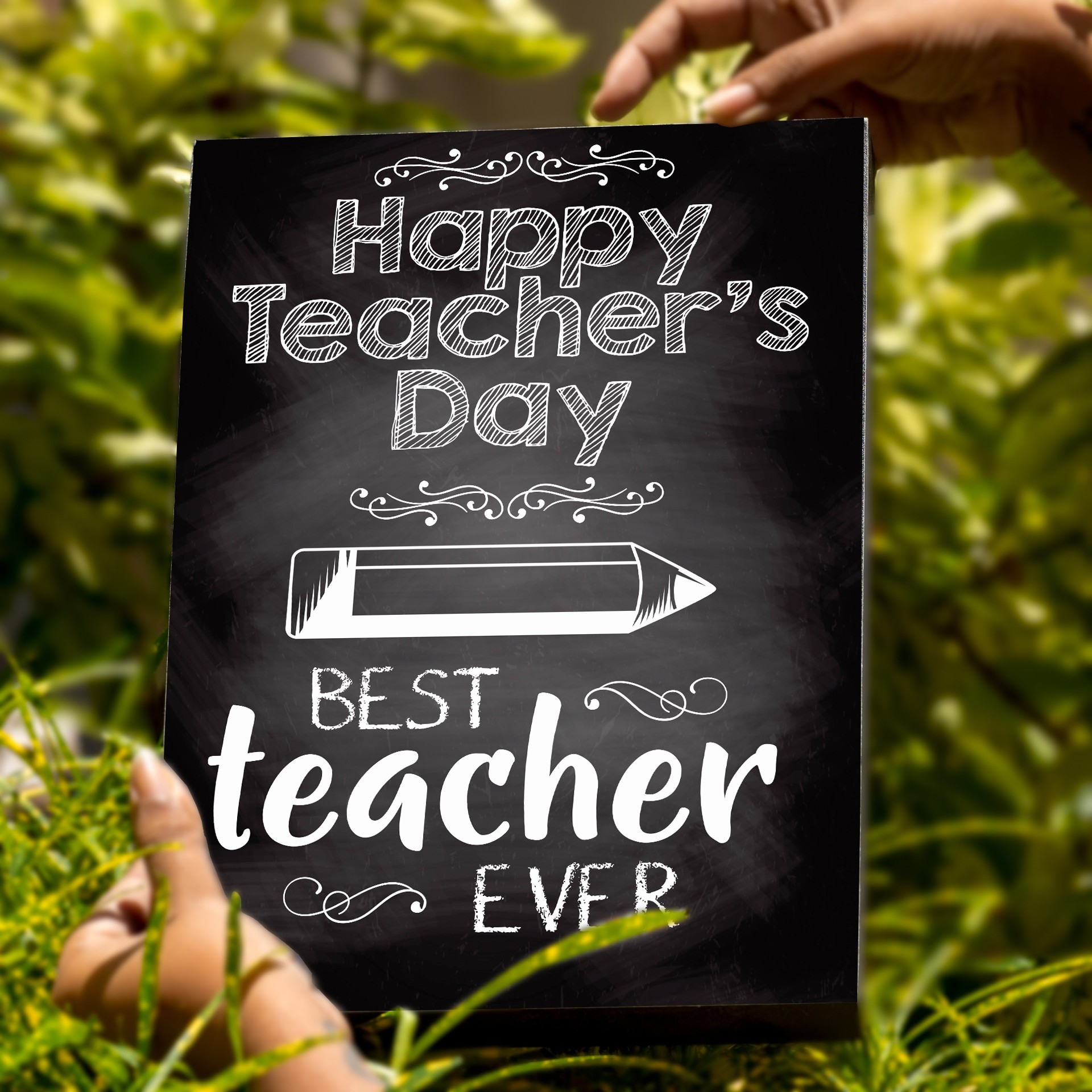 Teacher's Day A4 Box Frame
