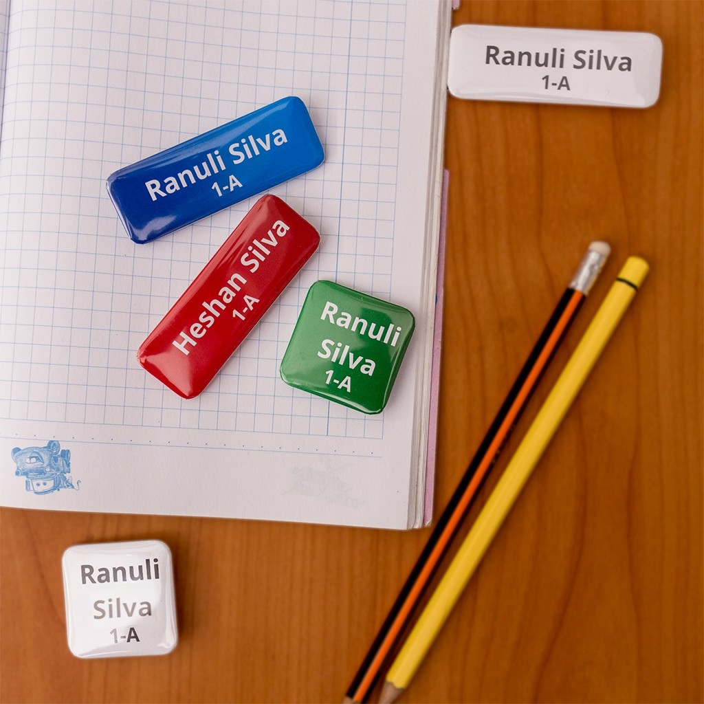 School Items - Name Badges