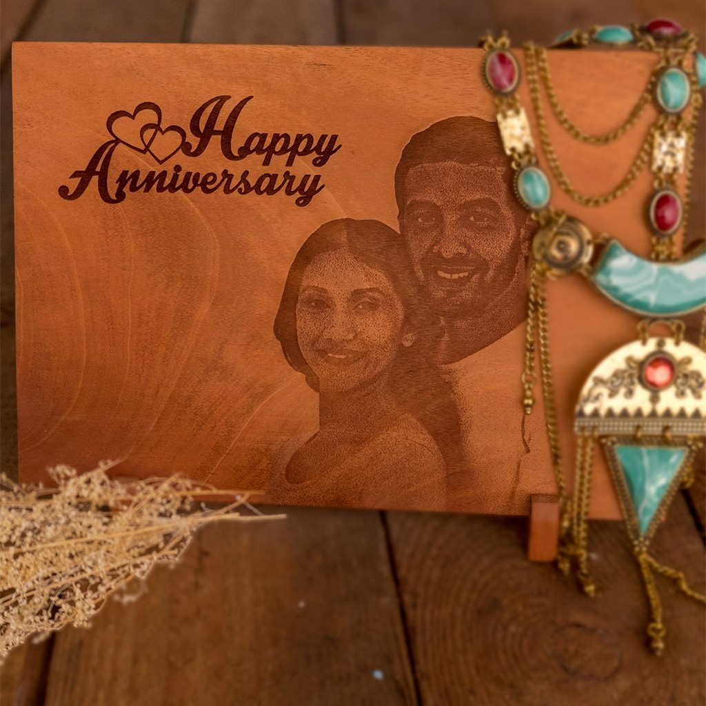 Anniversary - Laser etched photo