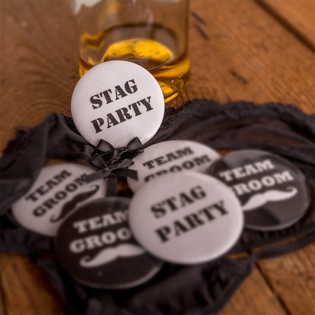Stag Party Badges