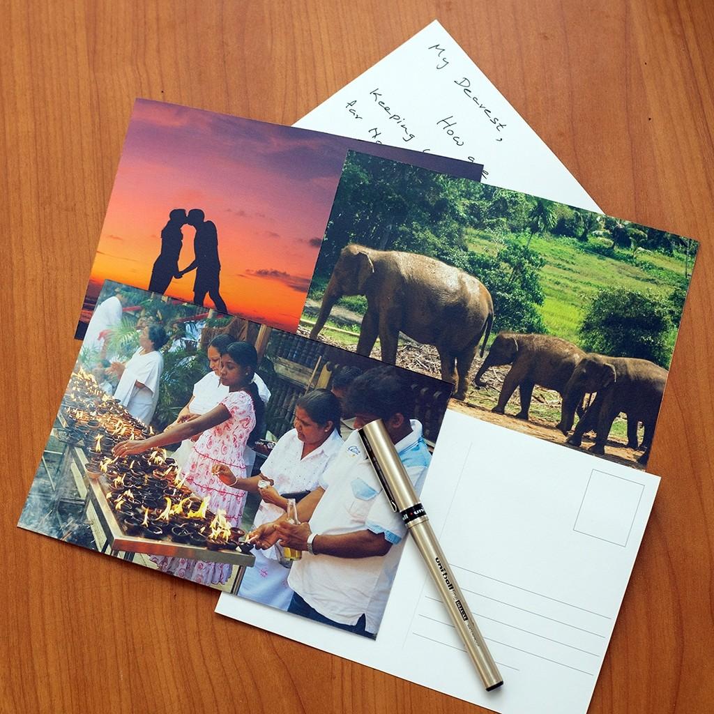 5x7 Inch Postcards