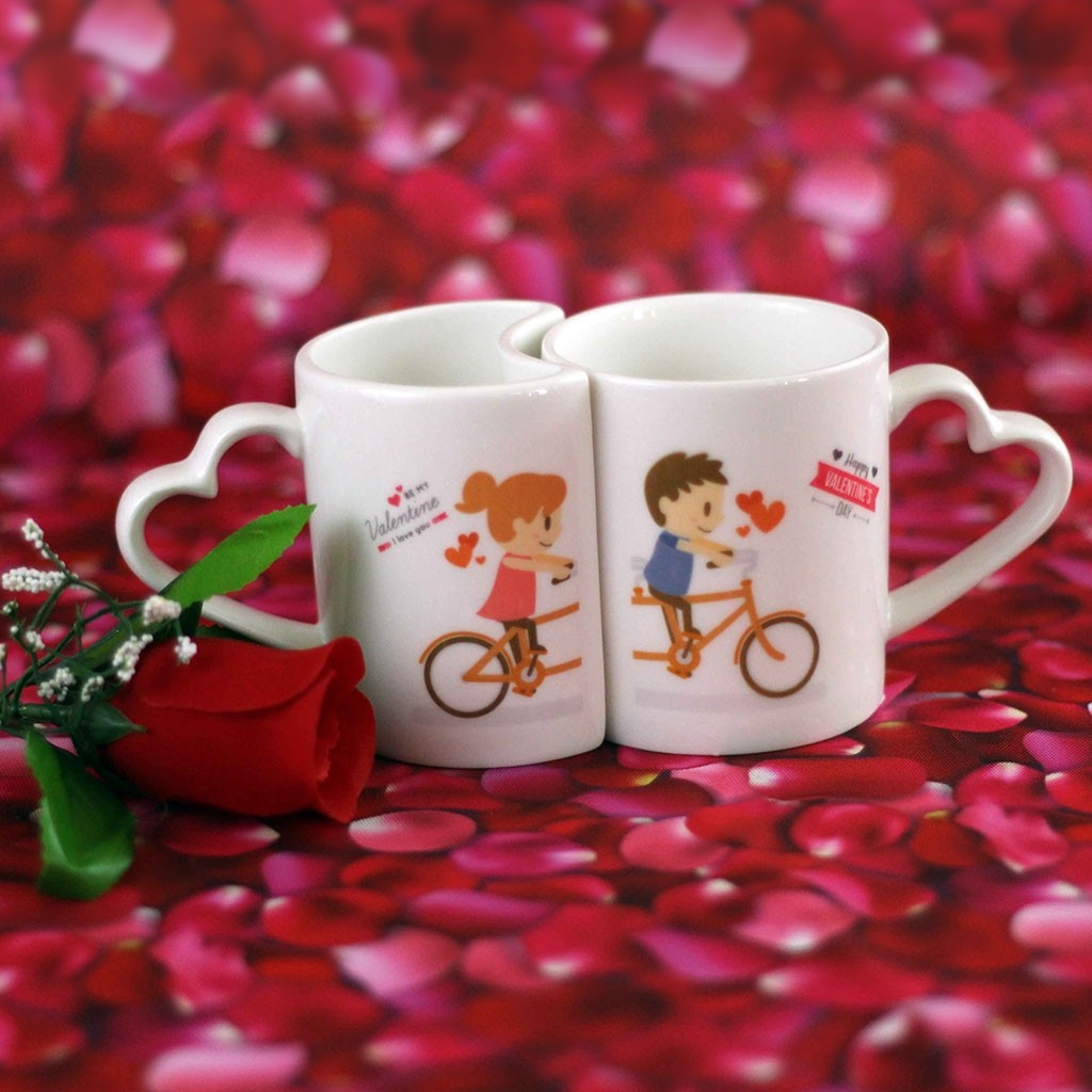 Valentines Day Couple Mug Anim8