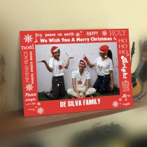 Christmas Card - Photo Sleeve
