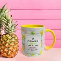 Inner Coloured Yellow Mug