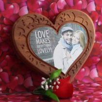 Wooden Heart Photo
