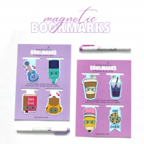 Magnetic bookmarks- Set 01