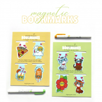 Magnetic bookmarks - Set 3