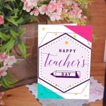 Teacher's Day Card 3