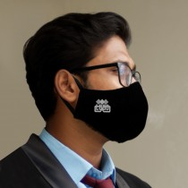 Mask With Corporate Logo