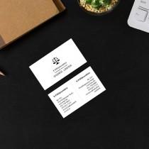 Divorce Lawyer Visiting Card