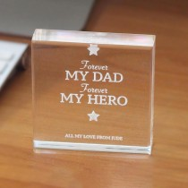 Square Acrylic Paper Weight