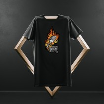 """Burn Baby Burn"" Black Tshirt"