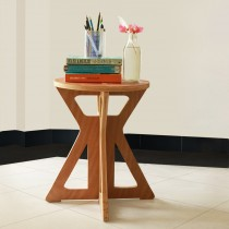 Short Wooden Stool - Furniture Range