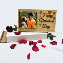VALENTINES DAY PRINTED GRANITE ON WOOD