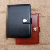 Leather Bound Diary Organizer