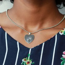 Metal Heart Pendant