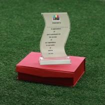 Swerve Crystal Trophy