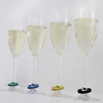 Wine Glass Identifier Tags