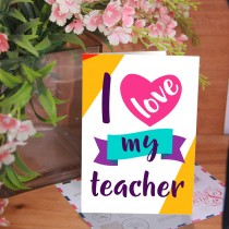 Teacher's Day Card 2