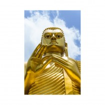 The Golden Buddha Statue, Dambulla, Sri Lanka