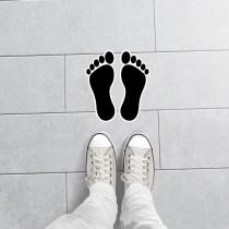 Foot Print Stickers