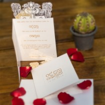 Sinhala Hansa Poottu Wedding Card